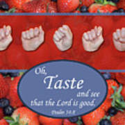 Taste And See Poster