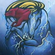 Tasunka Witko- Crazy Horse Poster