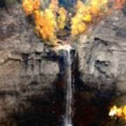Taughannock Falls Poster