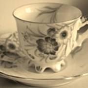 Tea Cup Poster
