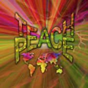 Teach Peace Poster