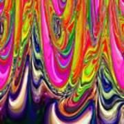 Technicolor Magma Poster