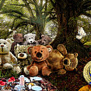 Teddy Bears Picnic Poster