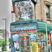 Teddywedgers Poster