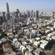 Tel Aviv And Ramat Gan Israel Poster