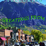 Telluride Greatings Poster
