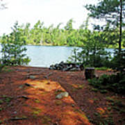 Temagami Island Campsite I Poster