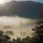 Temperature Inversion Traps Mist Over Ambleside Poster