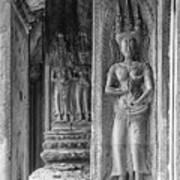 Temple Goddess Poster