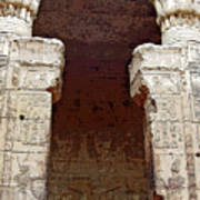 Temple Of Edfu I Poster