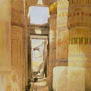 Temple Of Karnak  2 Poster