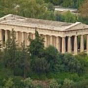 Temple To Zeus Poster