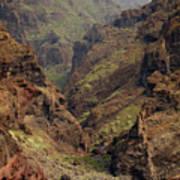 Tenerife Coastline Poster