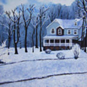 Tennessee Winter In The Smokies Poster