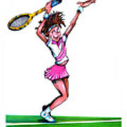 Tennis Ace Poster