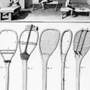 Tennis Rackets Poster