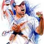 Tennis Snapshot Poster by Ken Meyer jr