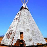 Tepee Trading Post Poster
