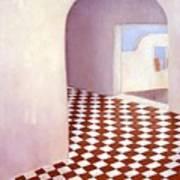 Terracotta Tile Poster