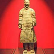 Terracotta Warrior  A Brave Commanding Officer   Poster