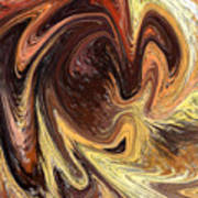 Terrestrial Vortex Abstract Poster