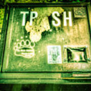 Terror At The Trash Can Poster