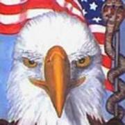 Terrorists Are Slithering In On The Backside Of Our Freedom Poster