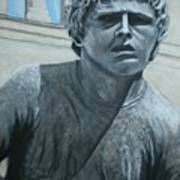 Terry Fox Statue Poster