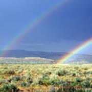 Teton Rainbow Poster