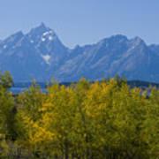 Teton Range Poster