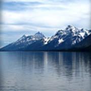 Teton Reflection Poster