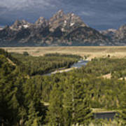 Teton Valley Snake River Poster