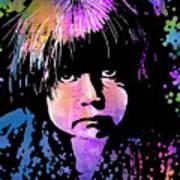 Tewa Child Poster