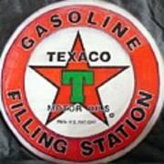 Texaco Sign Poster