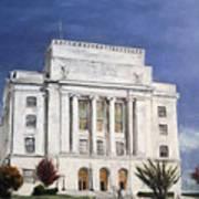 Texarkana Courthouse Poster