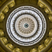 Texas Capitol Dome Poster