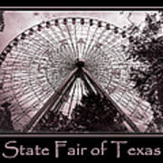 Texas Star Copper Poster Poster