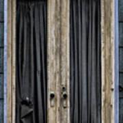 Textured Door Poster