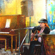 Tha Hambone Gallery In Clarksdale Poster