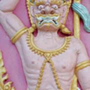 Thai Temple Art I Poster