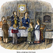Thanksgiving, 1853 Poster