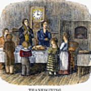 Thanksgiving, 1853 Poster