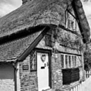 Thatched Cottages In Chawton 5 Poster