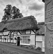 Thatched Cottages Of Hampshire 13 Poster