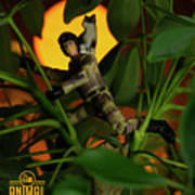 The 1-18 Animal Rescue Team - Cat In Jungle Poster