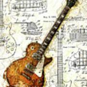 The 1955 Les Paul Custom Poster