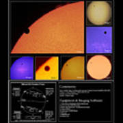 The 2012 Transit Of Venus Poster