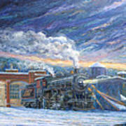 The 501 In Winter Poster