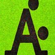 The A With Style Lime - Pa Poster