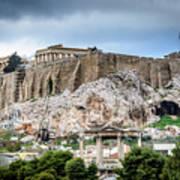 The Acropolis - Athens Greece Poster